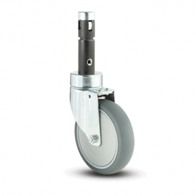 Rhombus 391 Central Locking Casters
