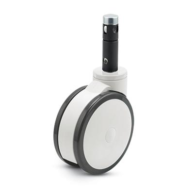 PT Primacy Twin Wheel Central Locking Caster