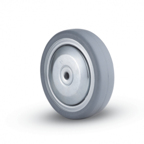 32C Natural Solid Rubber Wheel