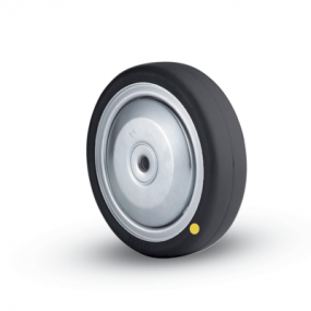 32C Electrically Conductive Natural Solid Rubber Wheel